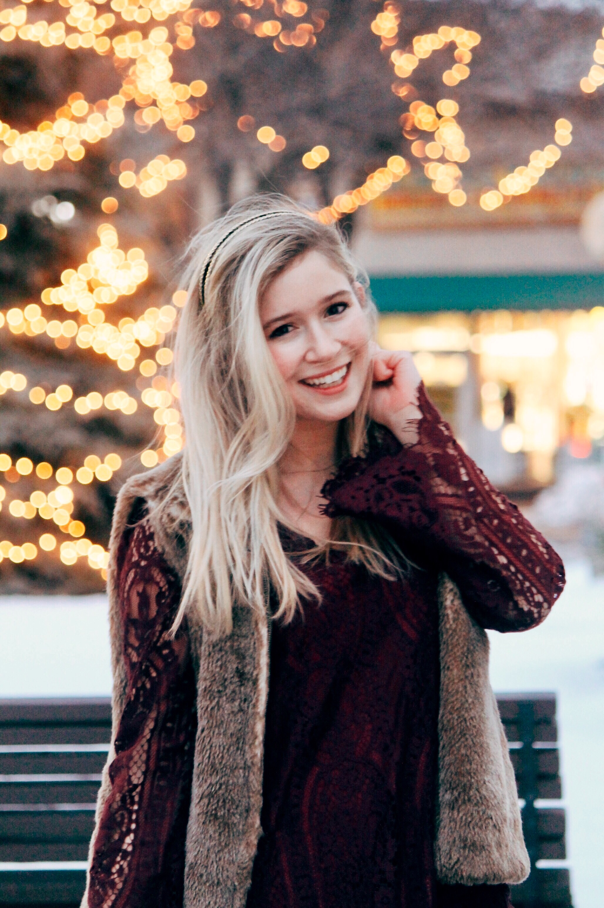 Holiday Party Look + Playlist