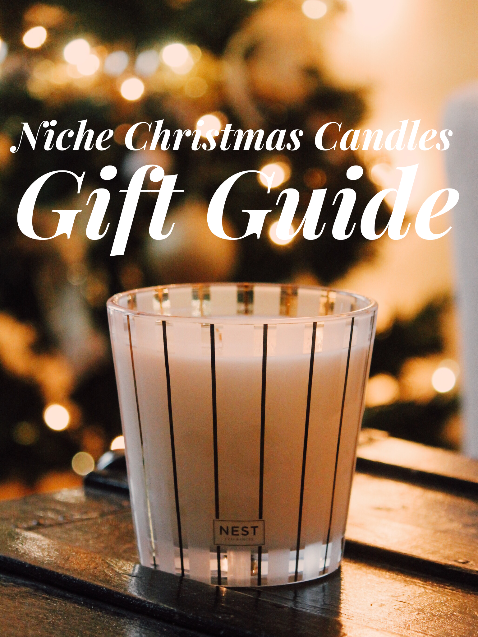 Holiday Gift Guide: Niche Christmas Candles