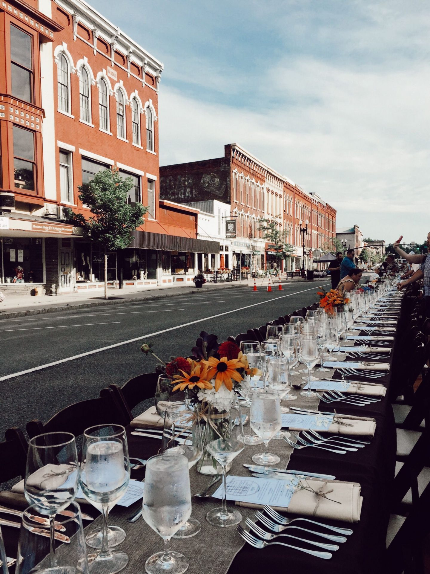 Farm-to-table dining on Main Street